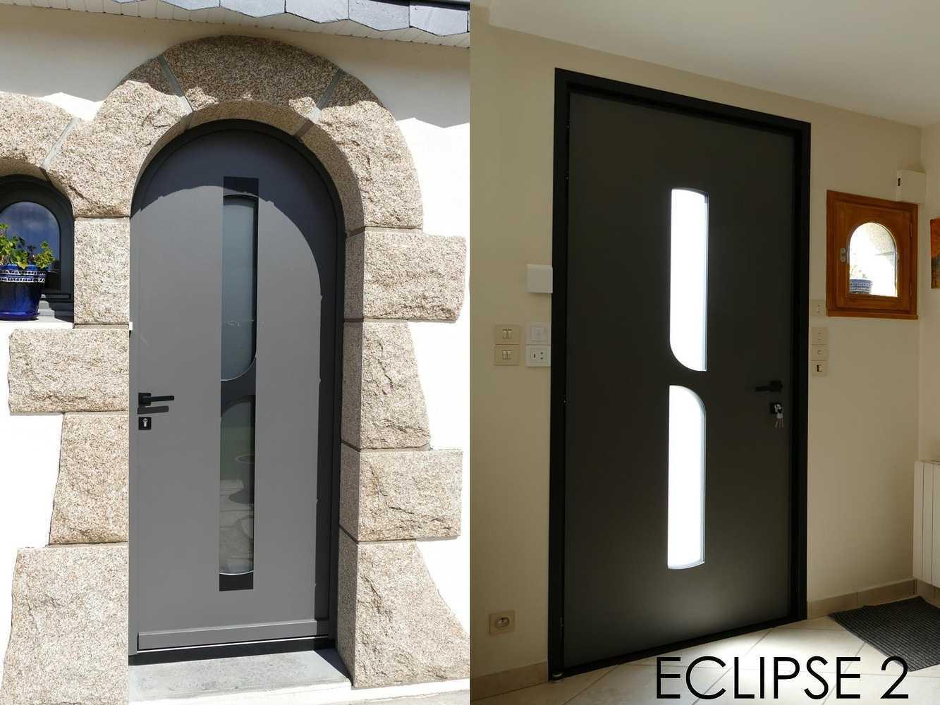 Porte d''entrée - Modèle Eclipse 0