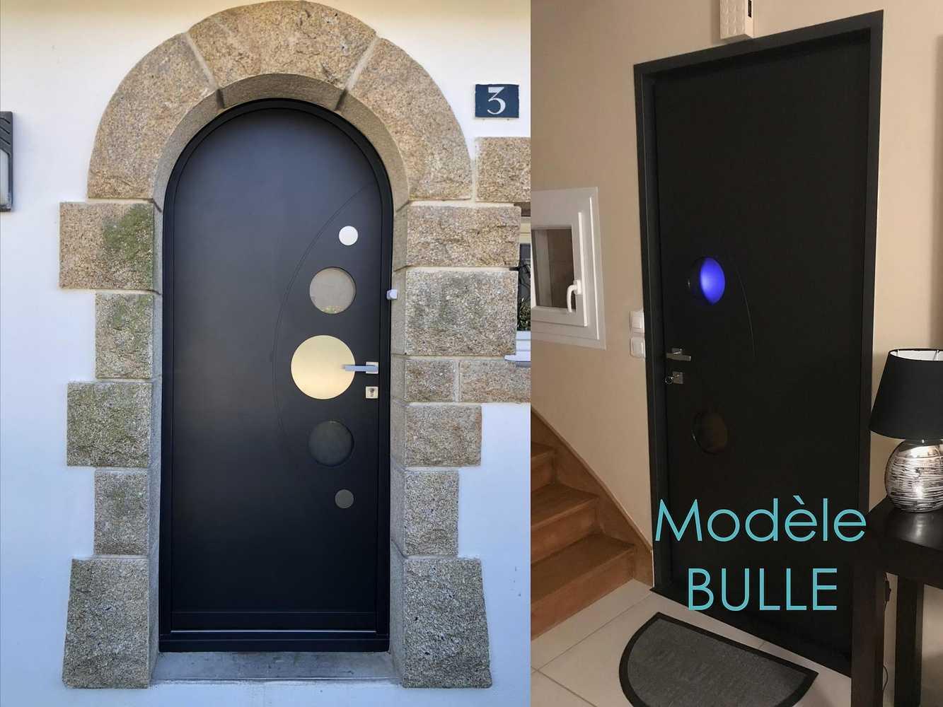 Porte d''entrée - Modèle Bulle 0