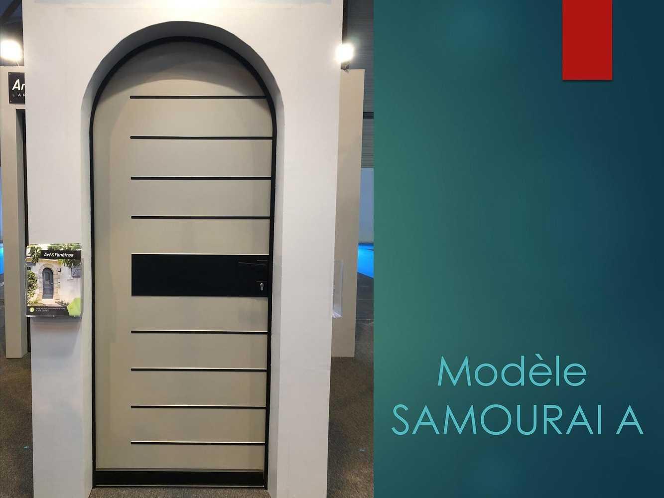 Porte d''entrée - Modèle Samouraï A 0