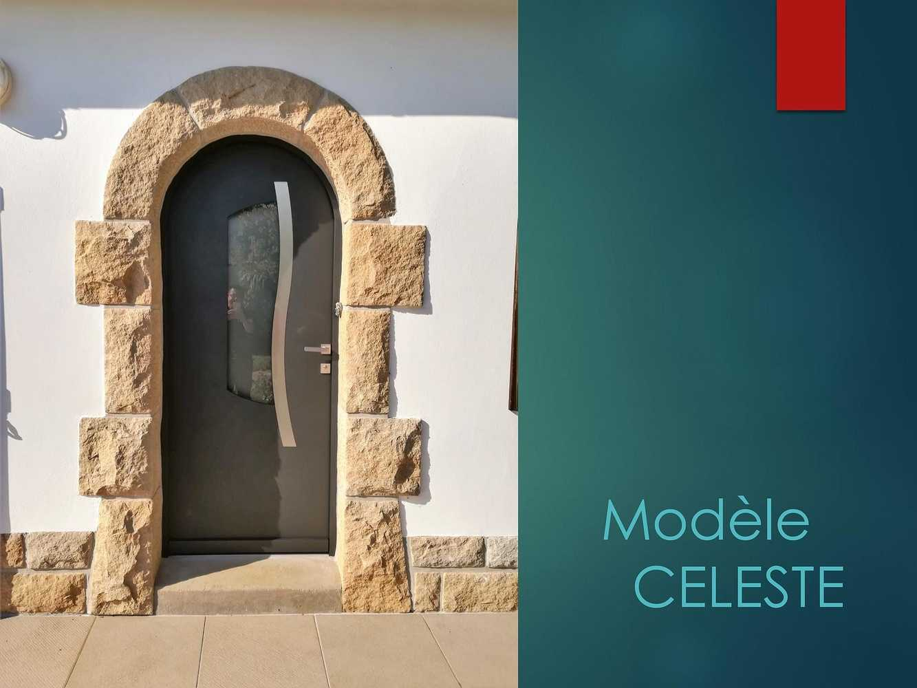 Porte d''entrée - Modèle Celeste 0