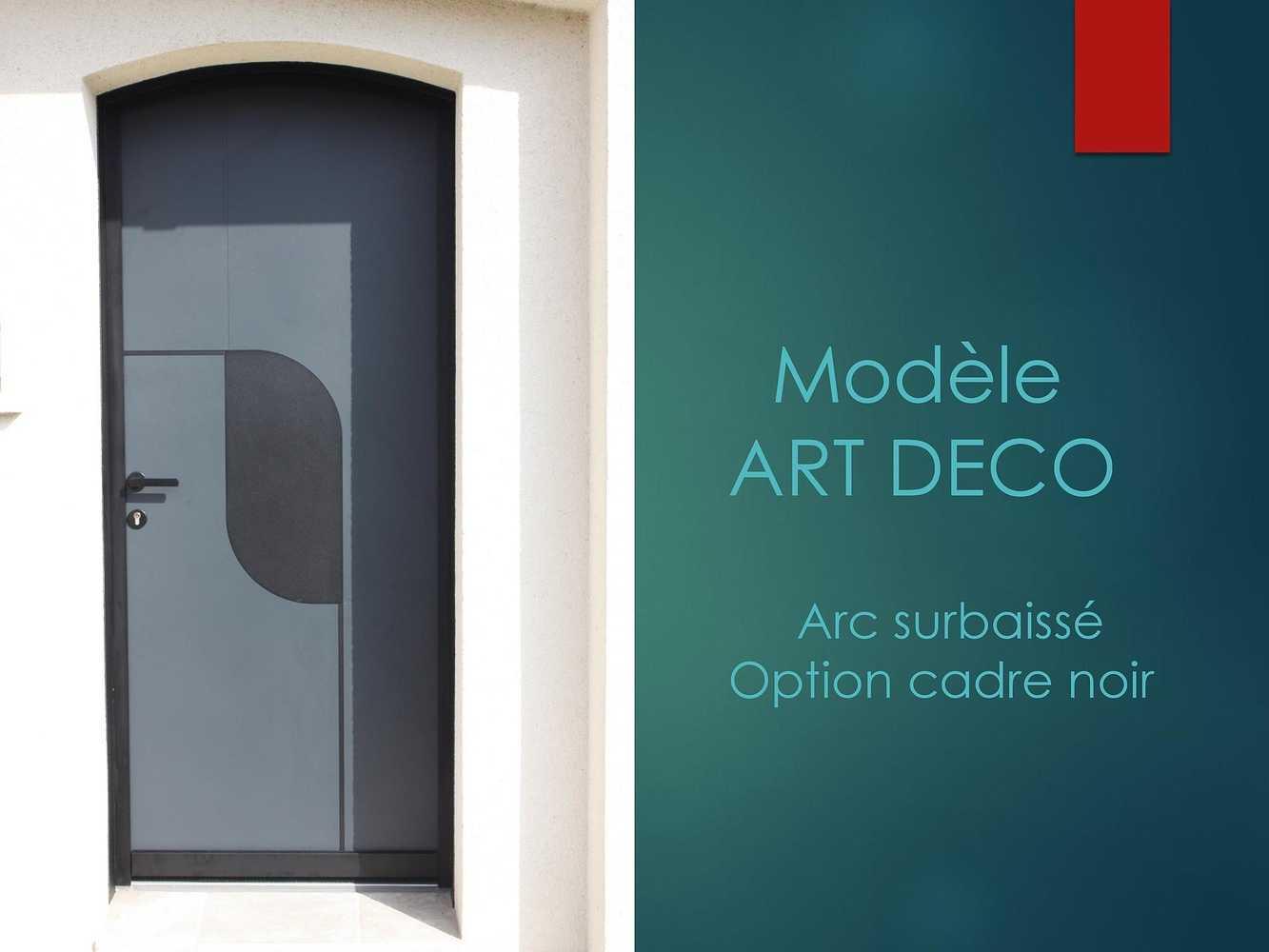 Porte d''entrée - Modèle Art Déco 0